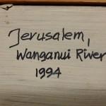 JERUSALEM WANGANUI RIVER