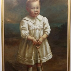 OVER HUNDERD YEARS ANTIQUE PAINTING - 1913