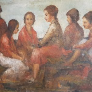 WILLIAM BUCKLEY – ANTIQUE OIL PAINTING